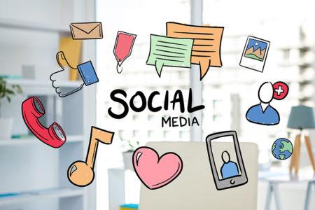 ソーシャル メディア カラー コード