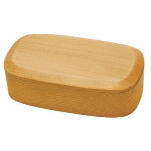 自然素材のお弁当箱