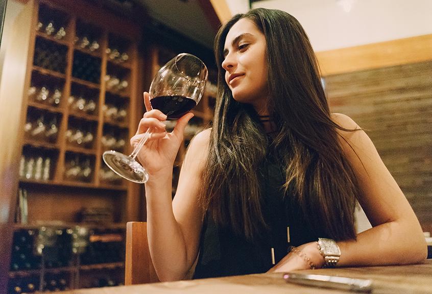 秩父ワインを楽しむ