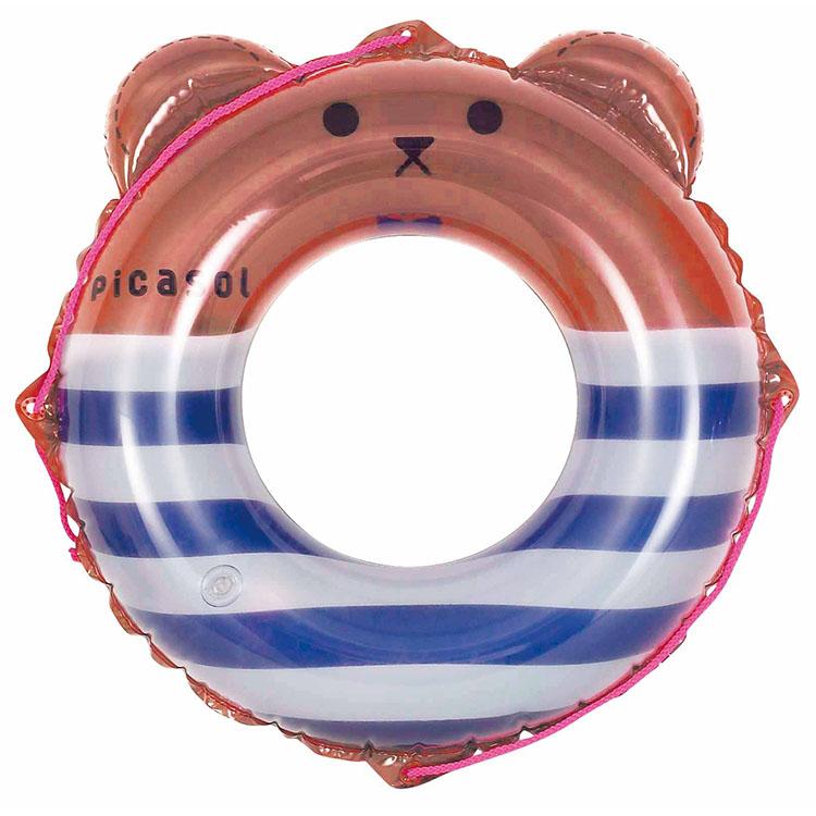 クマさんの浮き輪
