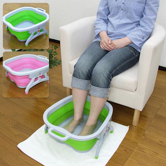 家庭で楽しむ足湯