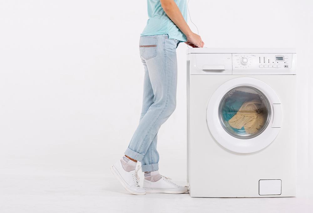 洗剤を使わない洗濯