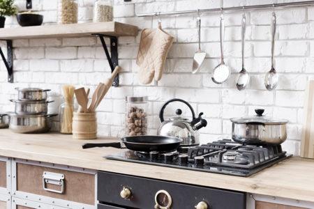 キッチン用品を掃除