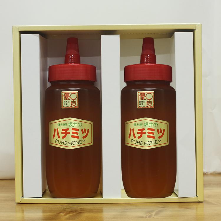 百花蜂蜜 500g×2本セット ギフトボックス付