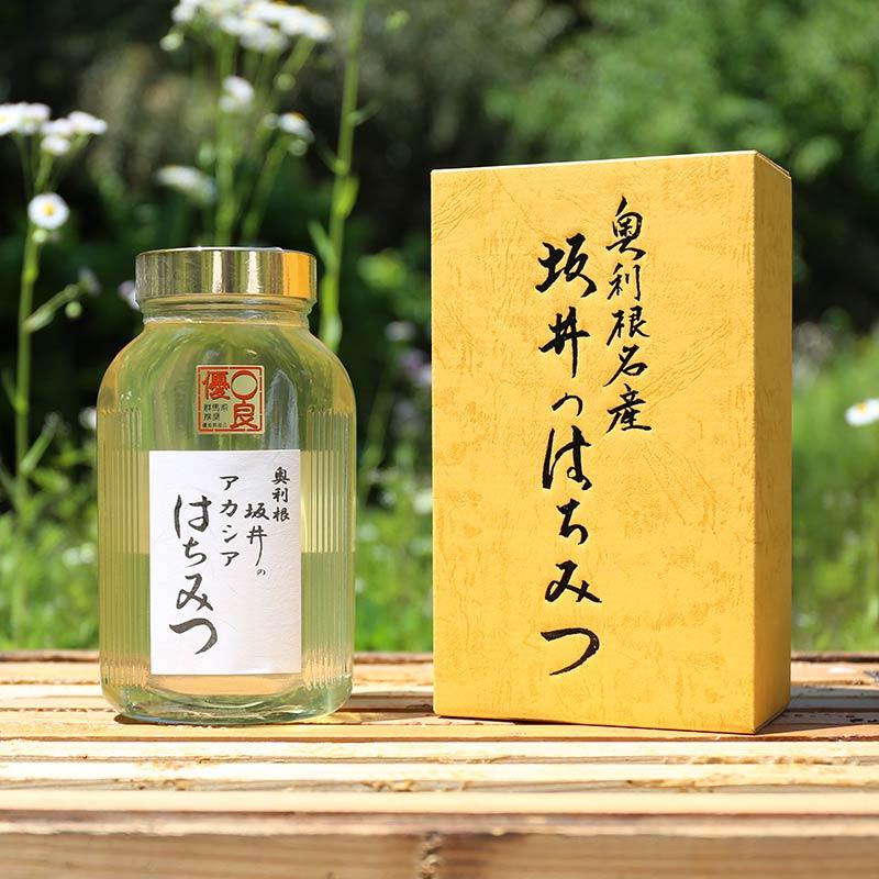 特選アカシア蜂蜜 1kg 化粧箱入