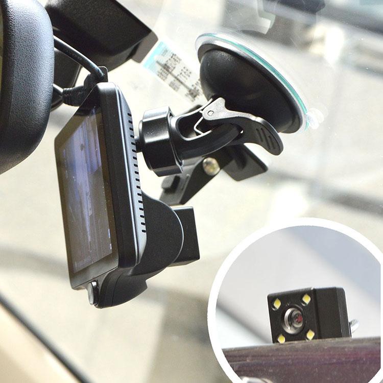 3カメラ同時録画ドライブレコーダー