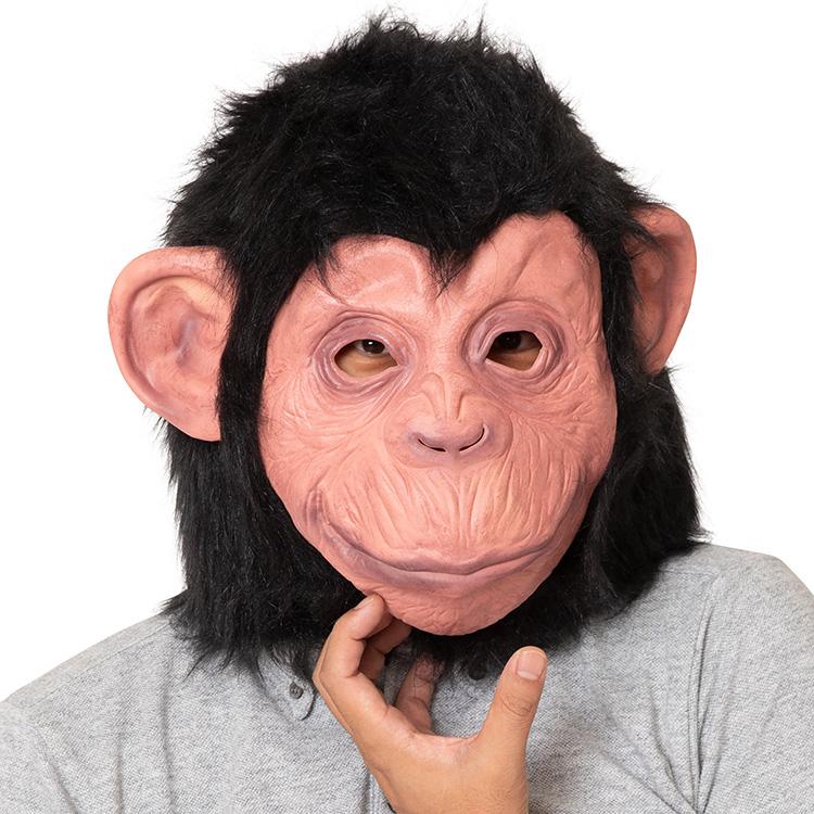 ラバーマスク チンパンジー